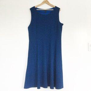 Land's End Sleeveless Blue Dress XL/18